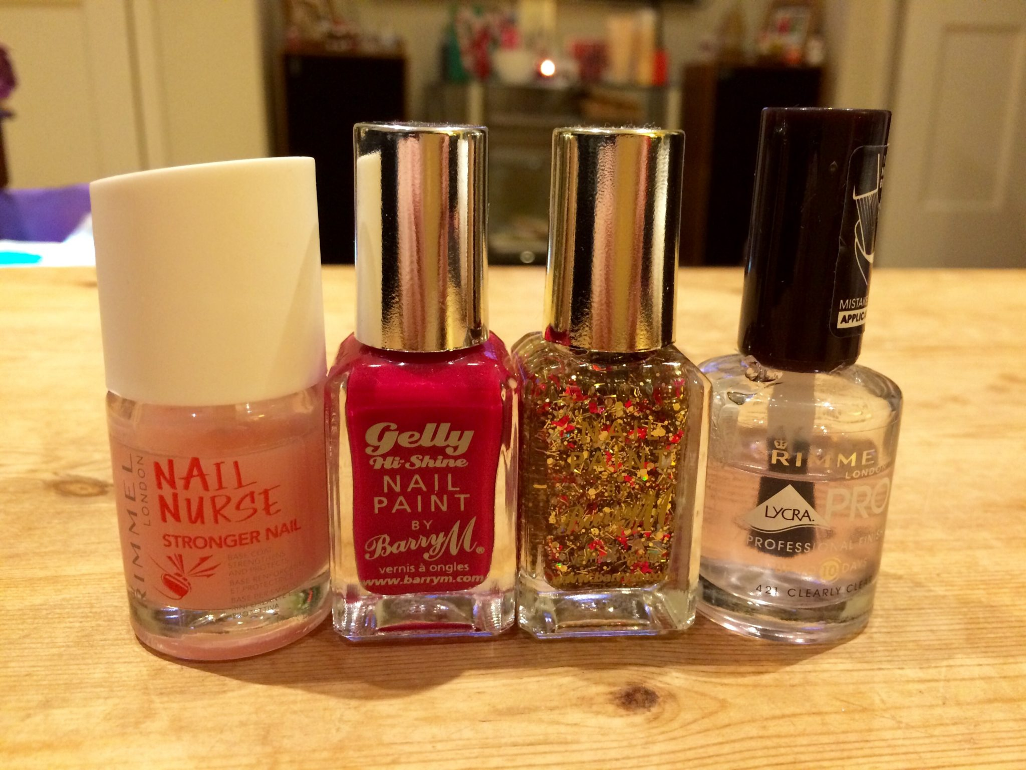 Christmas Nails Barry M_Miss Pond