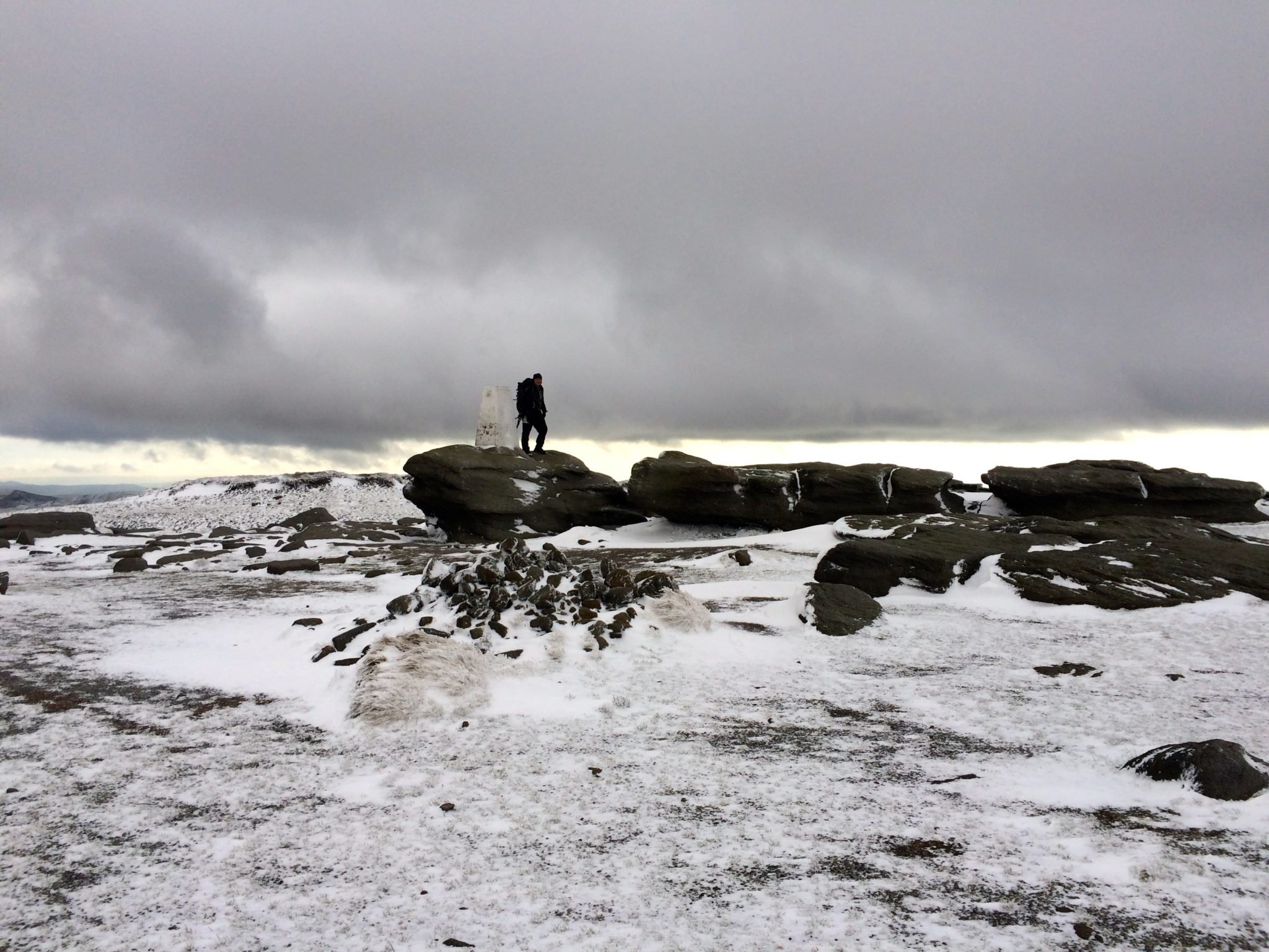 Kinder Scout_Edale to Glossop Hike_Miss Pond