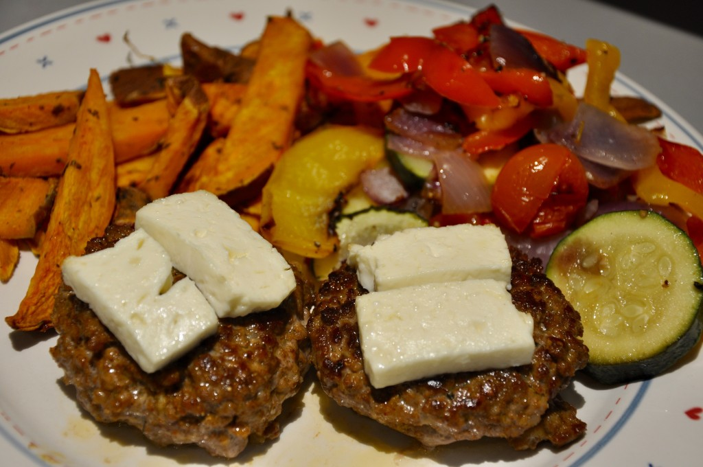5_Greek Style Burgers_Welsh Lamb_National Burger Day_Miss Pond