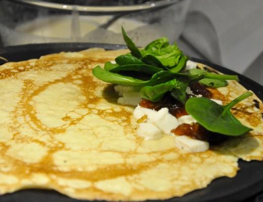 Goats-Cheese-Chutney-Pancake