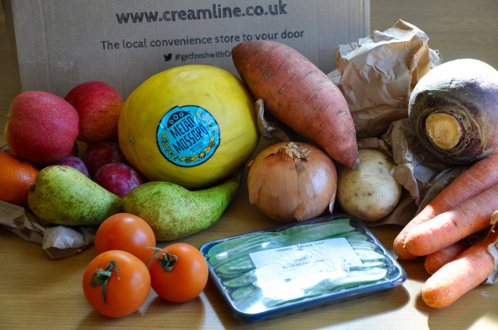 Creamline Veg Box