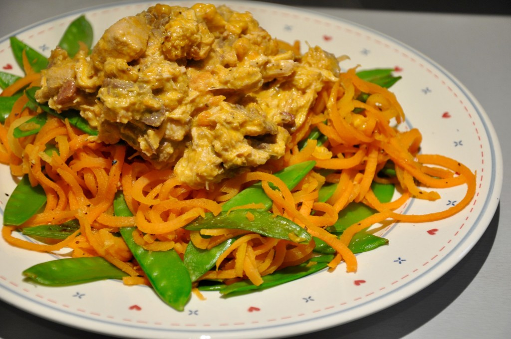 Rabbit-Venison-Ragu-Carrot-Spaghetti