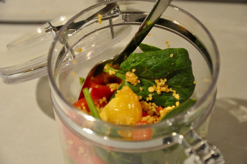 Cous Cous Salad Jar