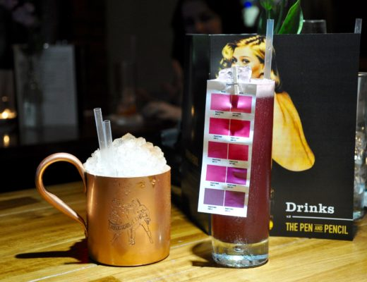 Pen and Pencil New Cocktail Menu Launch 2016