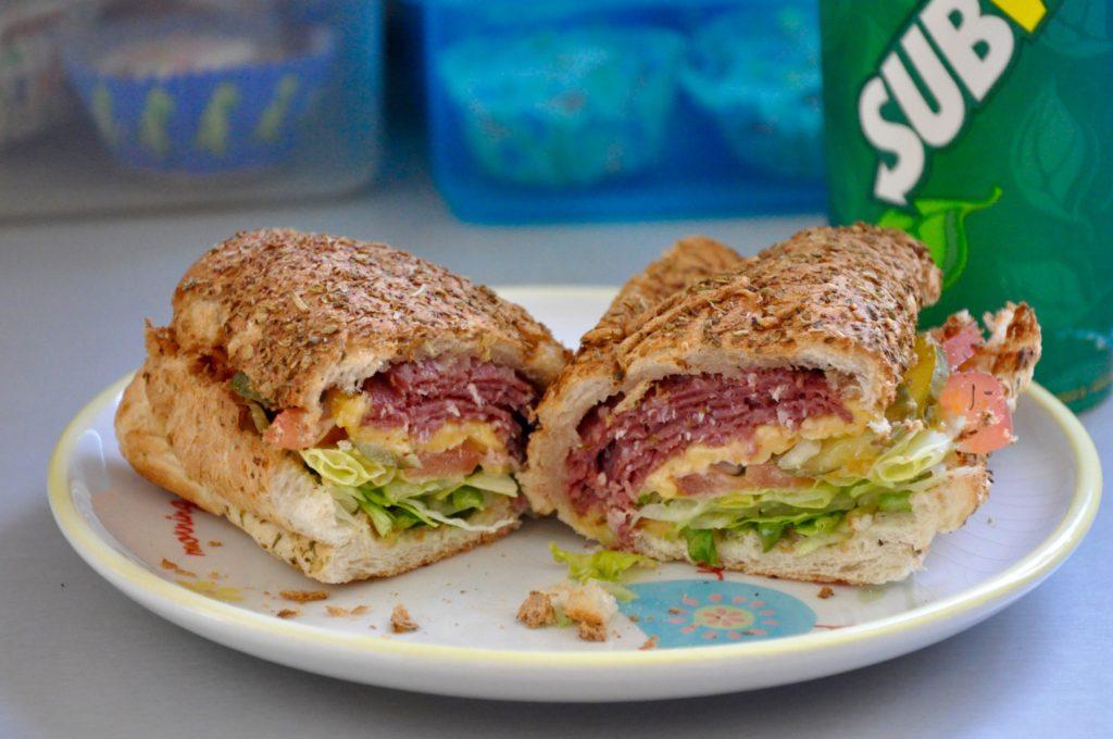 British Sandwich Week- Subway