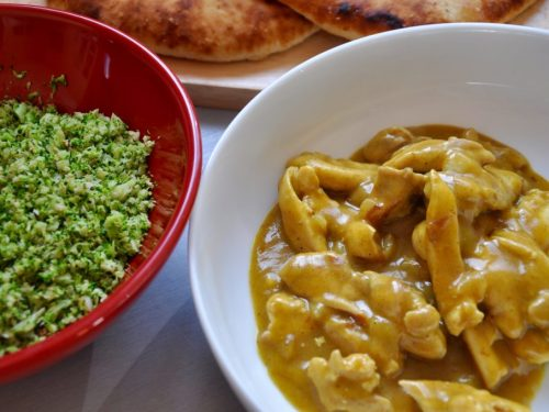 Curry And Broccoli Rice