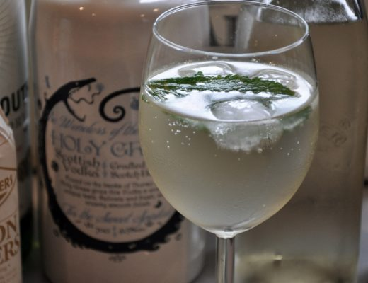 Holy Grass Vodka Spritz Cocktail Recipe