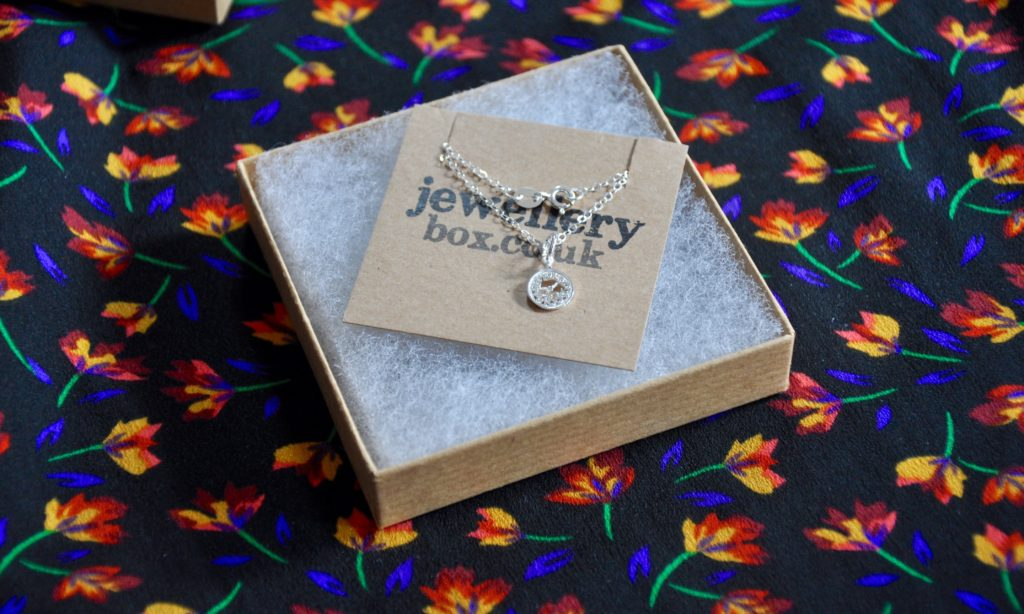Jewellery Box Alice in Wonderland Silver Necklace
