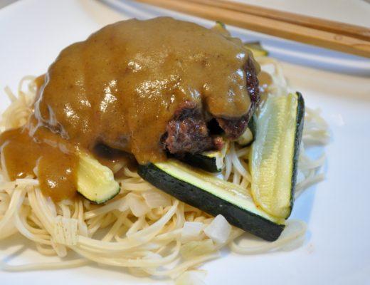Katsu Wagyu Burgers and Crispy Noodles Recipe