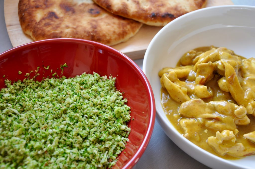 Madras Curry and Broccoli Rice