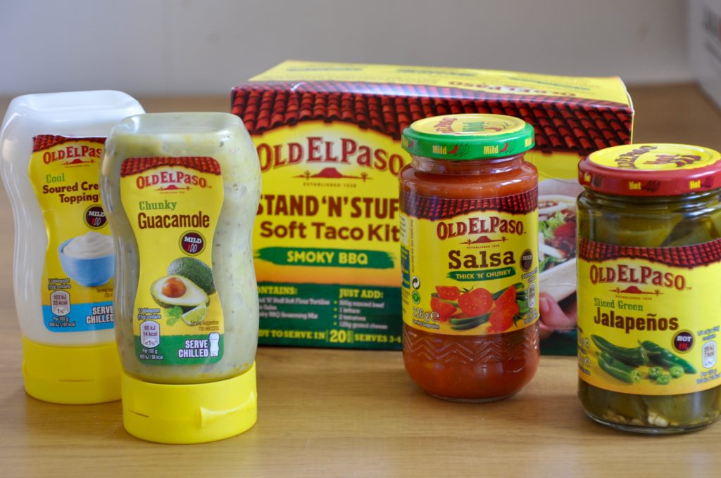 Old El Paso Stand N Stuff Products
