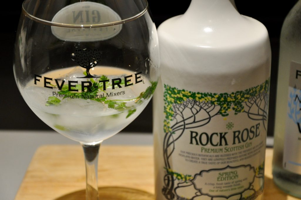 Rock Rose Spring Edition Gin and Tonic