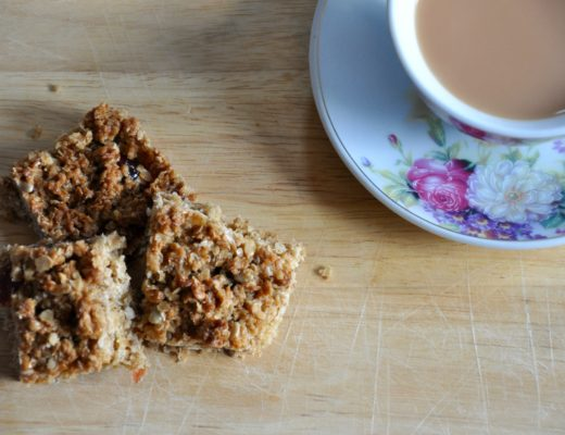 Cherry and Sunflower Seed Flapjacks