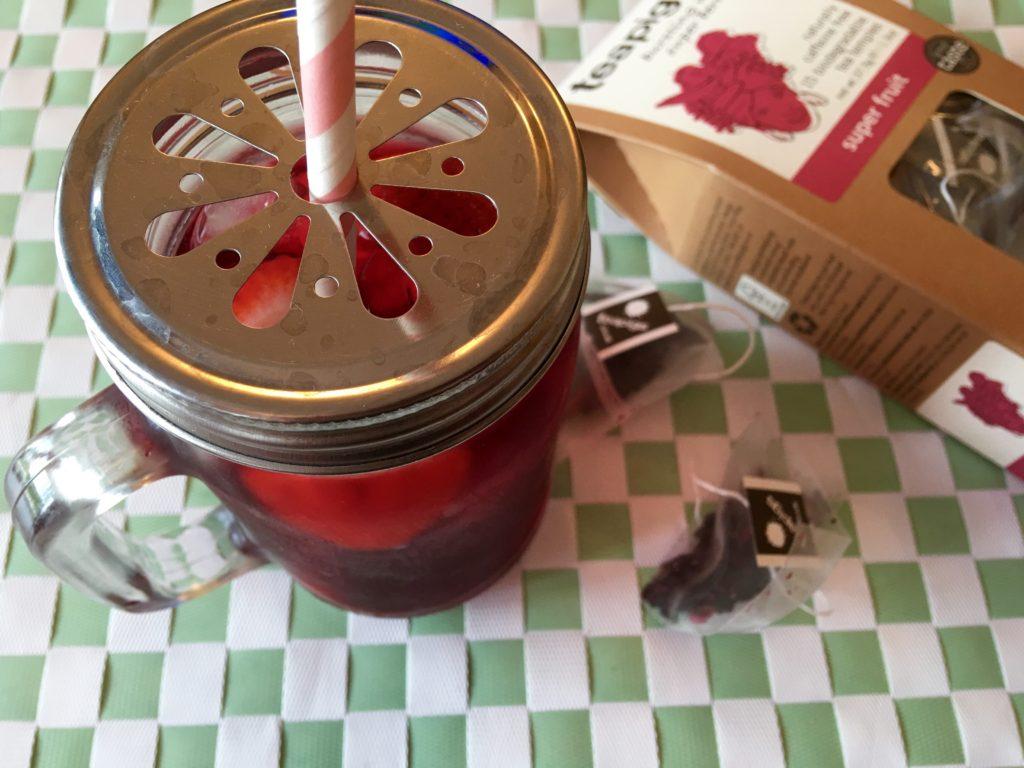 TeaPigs Summer Berry and Elderflower Iced Tea