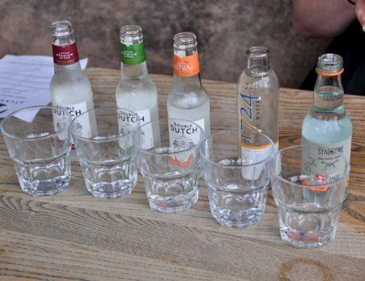 Tonic Water Tasting at Atlas Bar Manchester