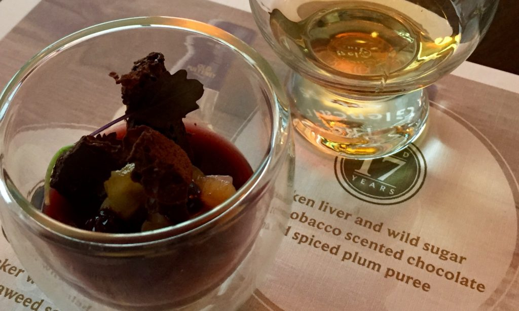 17 Year Old Pulteney Whisky Pairing