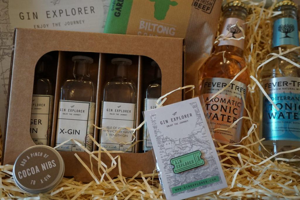 5 Happy Things - Gin Explorer Box