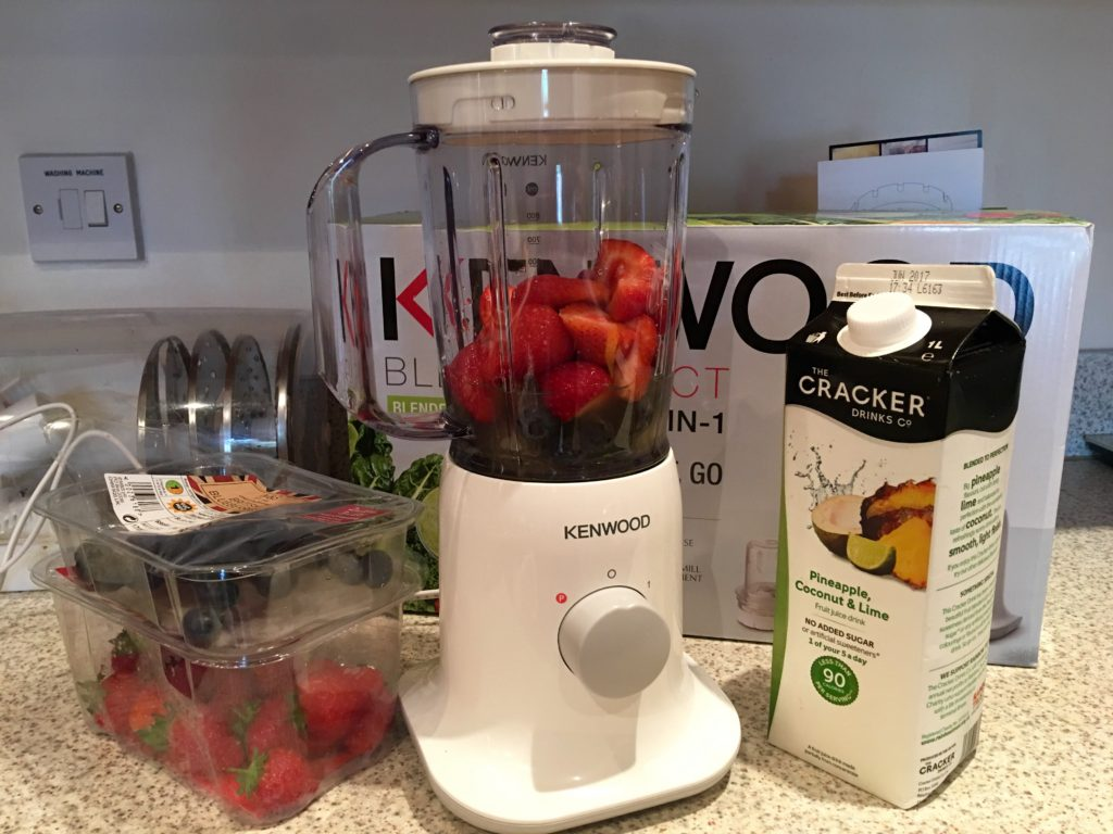 Summer Berry Smoothie Ingredients
