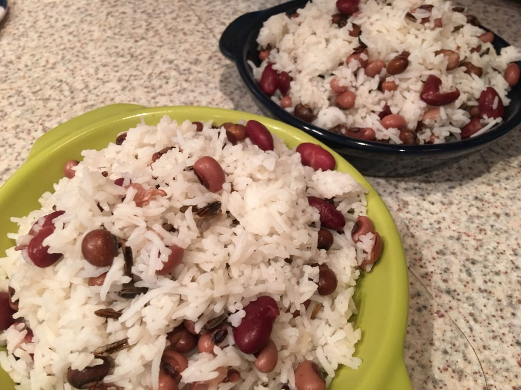 Caribbean Dinner Party Menu Ideas Part - 31: Rice And Peas Caribbean Food Week. Caribbean Food Week Party