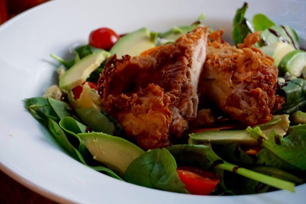 The Popeye Salad - The Rose Villa Tavern