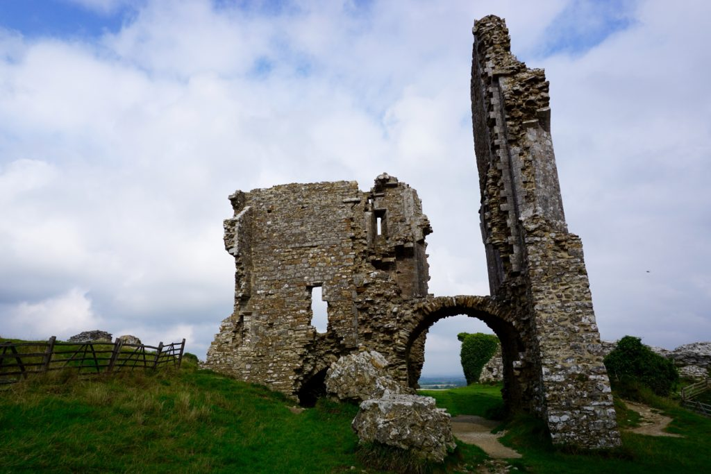 from-corfe-to-swanage-via-harrys-rocks-corfe-castle