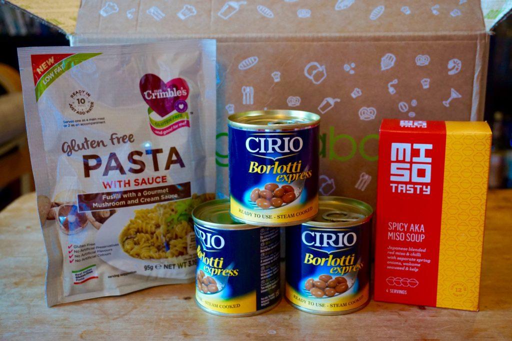 september-degustabox-dinner-items