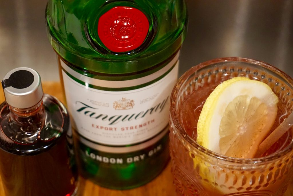 Raspberry collins with tanqueray gin gin diaries for Best mix with gin