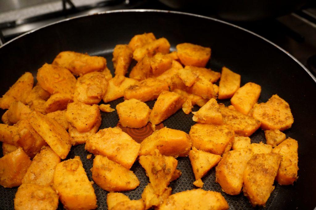 Desi Gourmet Spiced Sweet Potatoes