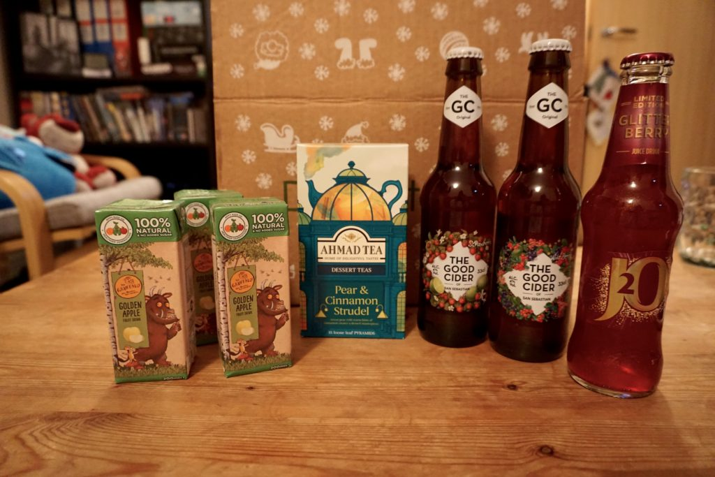 Festive Degustabox Drinks