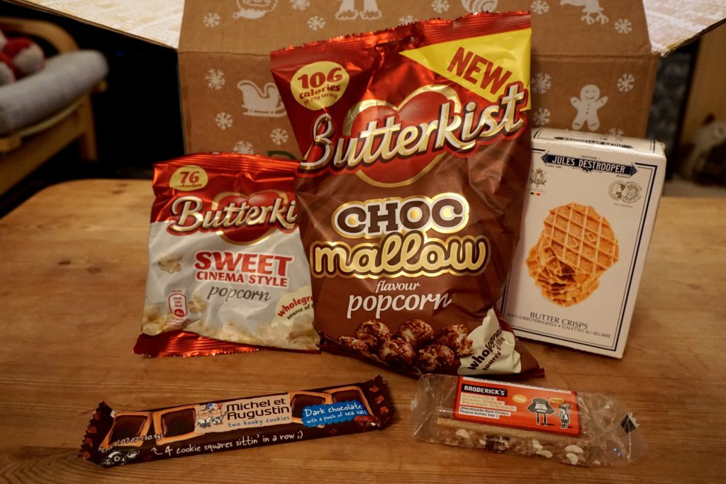 Festive Degustabox Snacks