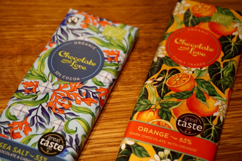Chocolate and Love Dairy Free Chocolate