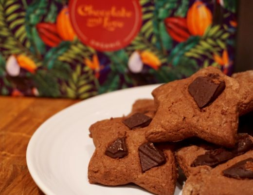 Dairy Free Double Chocolate Shortbread