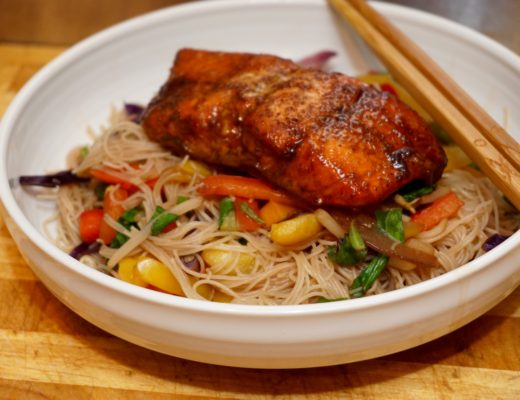 No Fuss Salmon Stir Fry Recipe