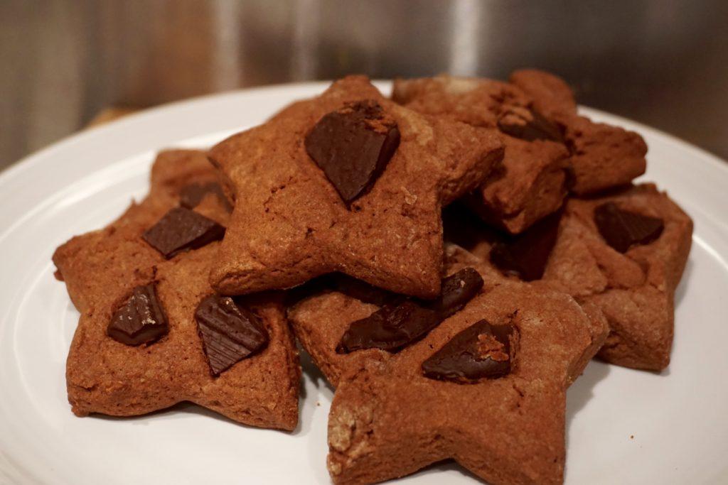 Vegan Double Chocolate Shortbread Recipe