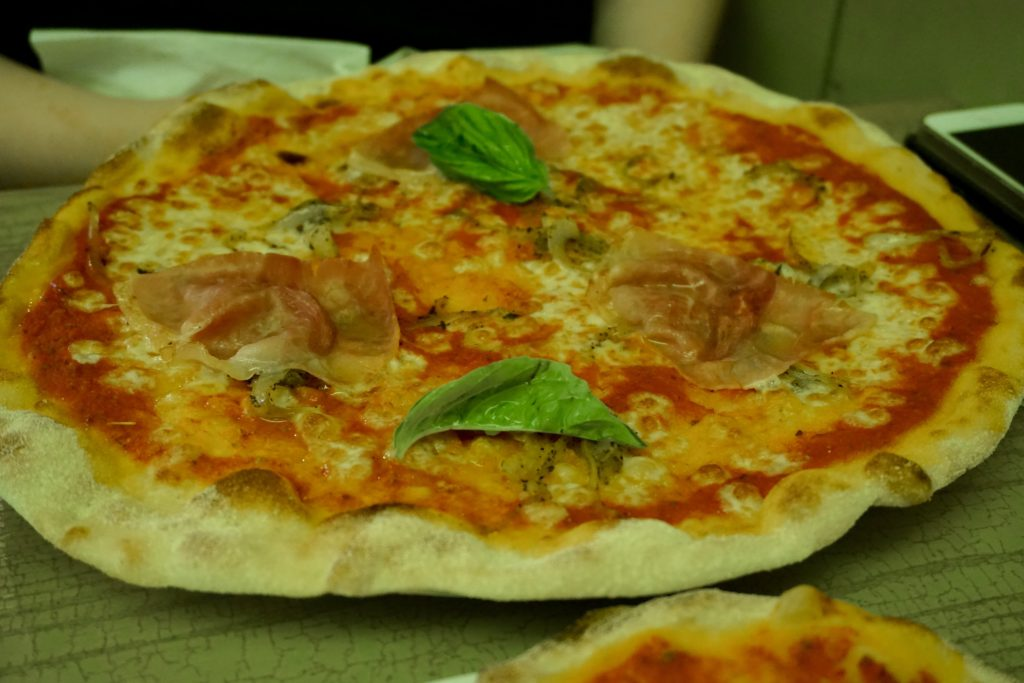 Pizza at Strada Birmingham