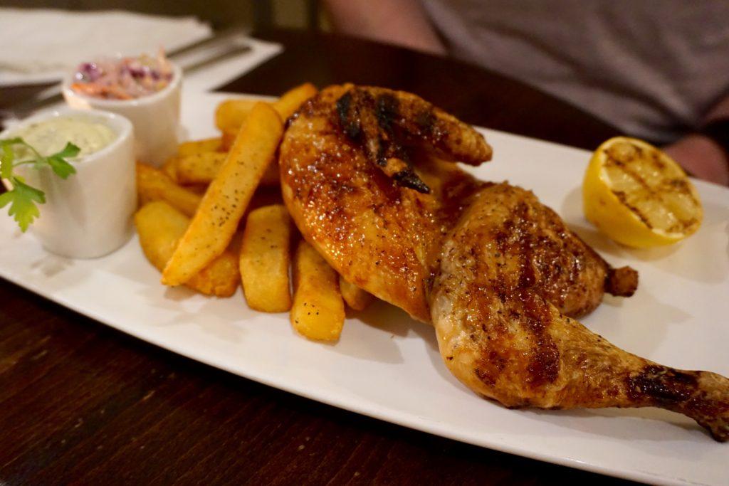 Best of British at Bacchus Bar Birmingham - Shropshire Chicken