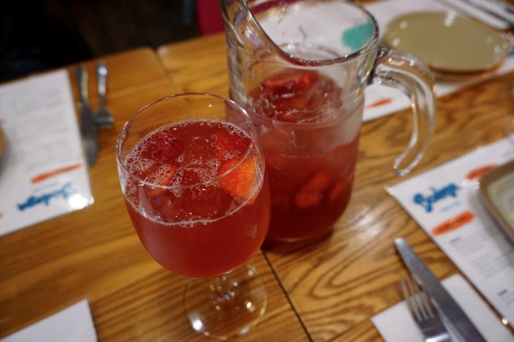 Menu Preview at Bodegea Worcester - Rose Sangria
