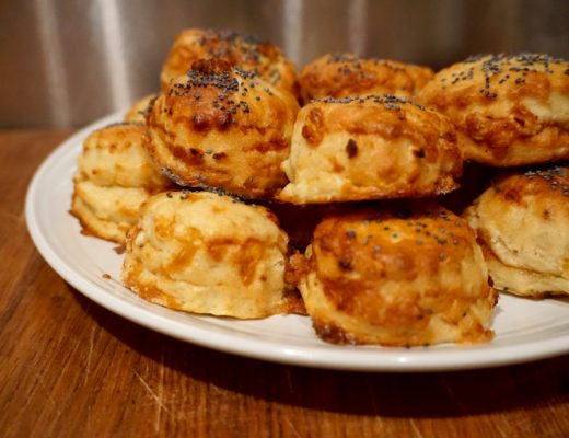Camembert Scones with Le Rustique Cheese