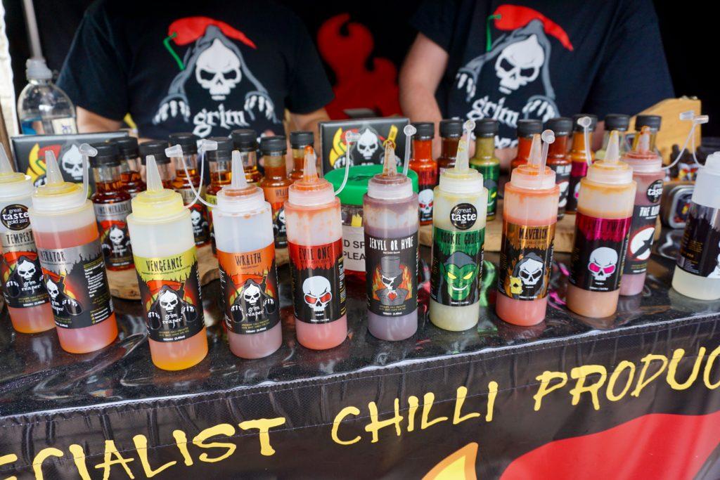 Eastnor Castle Chilli Festival 2017 - Grim Reaper Foods