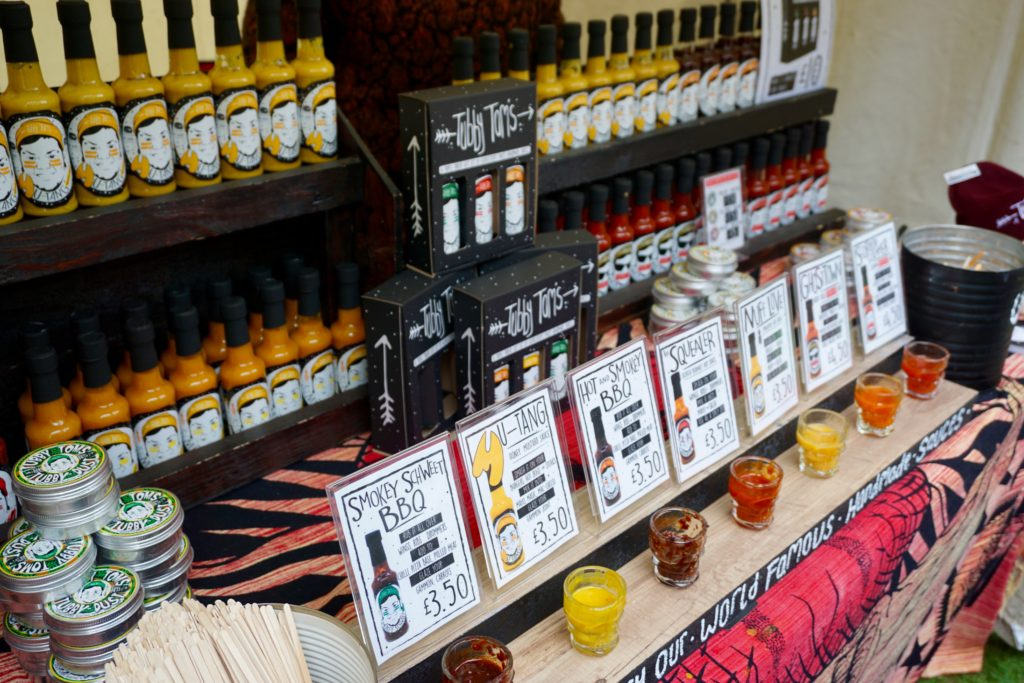 Eastnor Castle Chilli Festival 2017 - More stalls