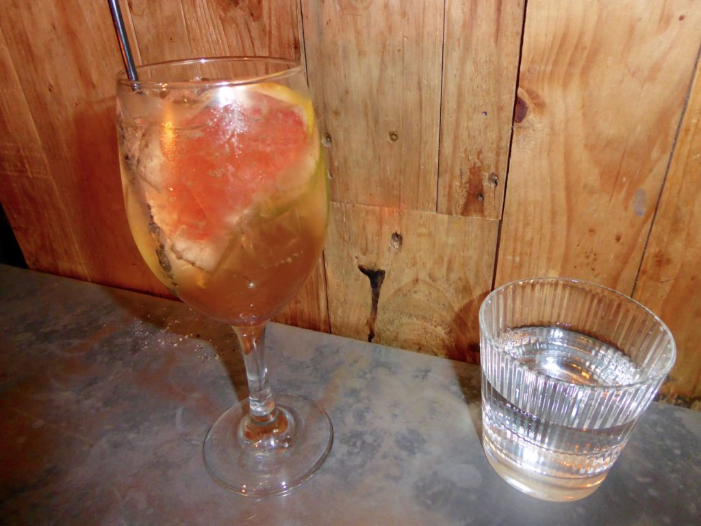 Malmaison Manchester Review - Fizz Cocktail