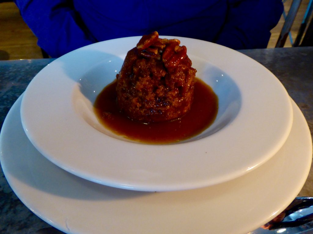Malmaison Manchester Review - sticky toffee pudding