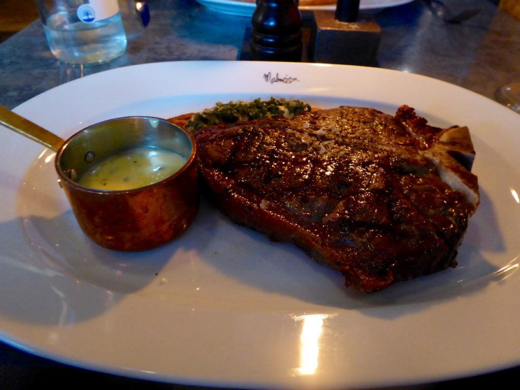 Malmaison Manchester Review - t-bone
