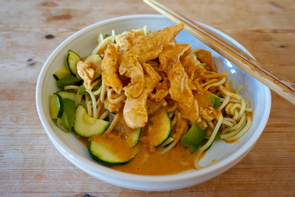 Spicy Thai Satay Chicken Recipe