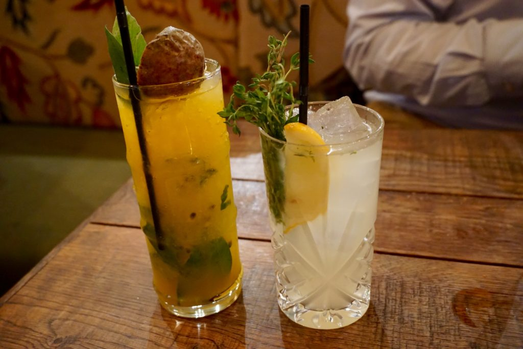The Botanist Birmingham - Cocktails