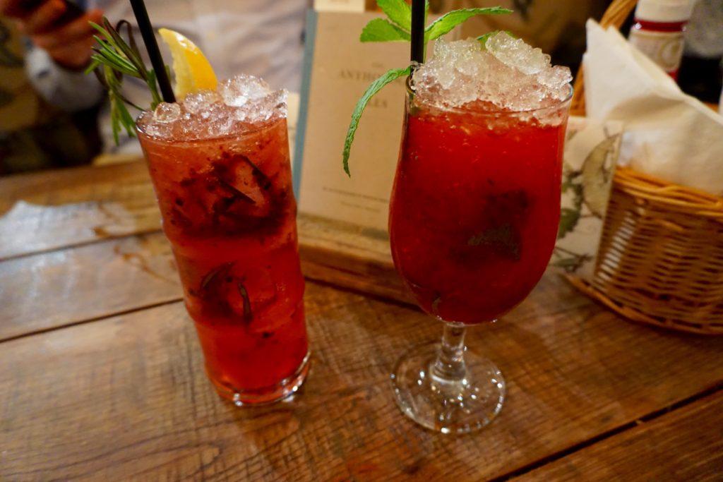 The Botanist Birmingham - Drinks