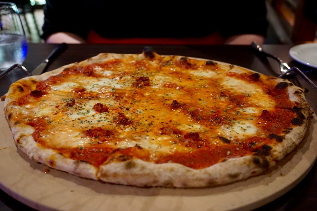 The Restaurant - Calabrese Pizza