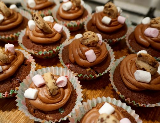 kMix Series - Smores Cupcakes