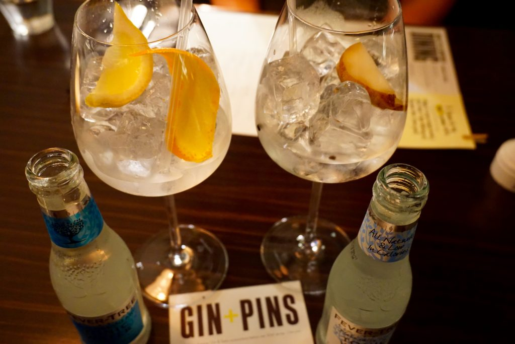 All Star Lanes Manchester - Gin Pins