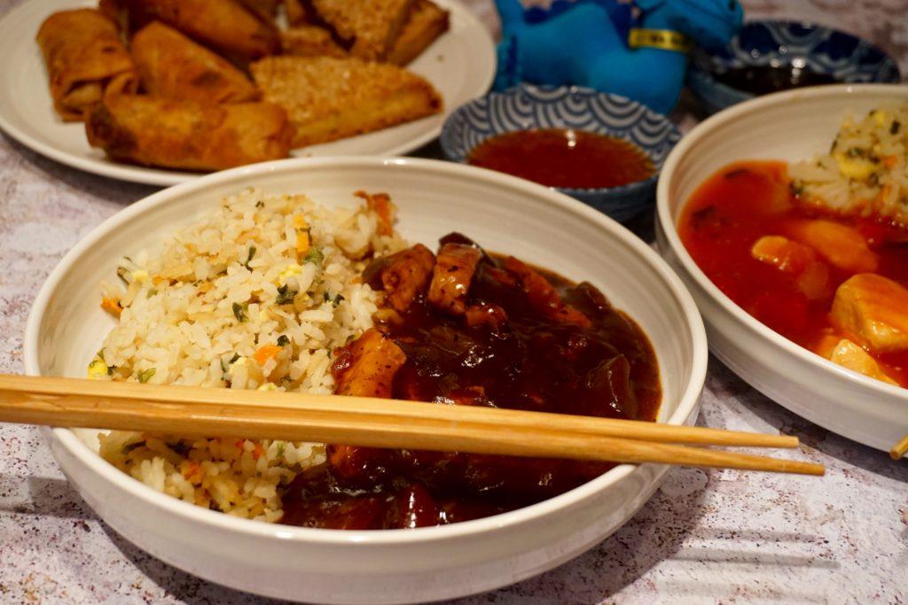 Blue Dragon Frozen Ready Meals - Chicken in Blackbean